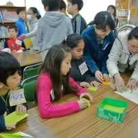 Exchange with Chofu Daiichi school