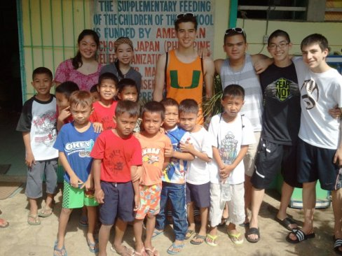 PRO members at Buyong Elementary School
