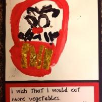 elc-Daruma - by Kinder student