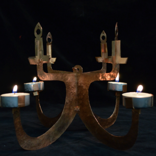 """Candle Holder"" by Jane Fraipont (grade 10)"