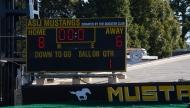 ASIJ soccer 2015 alumni vs. varsity