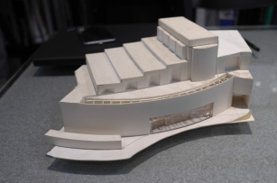 Model of the Ricketson Theater, DesignLINK 2006