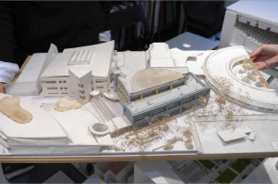 Model plan for part ASIJ's campus