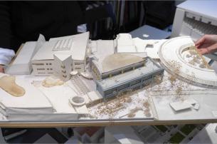 Model plan for part ASIJ's campus