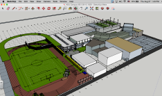 Geometry 2015 3D Campus on SketchUp