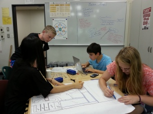 Geometry 2015 Group work Problem solving board Design thinking poster