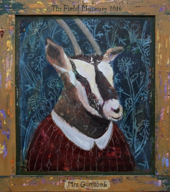"""Mrs. Gemsbok"" received an honorable mention."